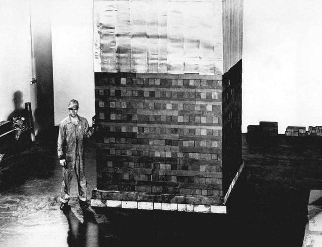 Chicago Pile 1 Graphite Blocks