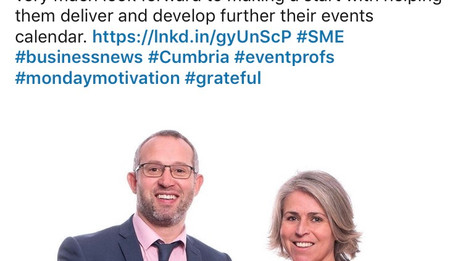 SME initiative from Sellafield Ltd produces contract to CBA Events