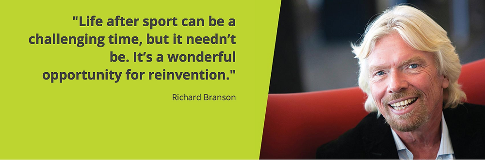 Branson on life after sport