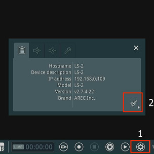 How to calibrate Media Station's GUI