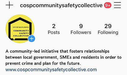 Community Safety Collective Instagram thumbnail