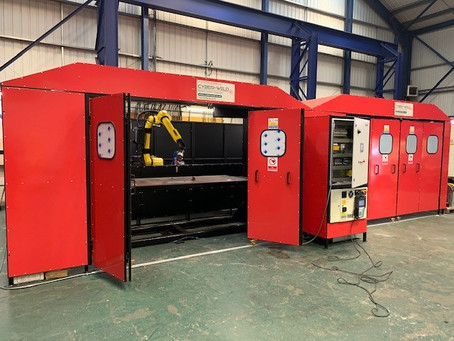 INVESTING IN OUR FIRST ROBOTIC WELDING CELL