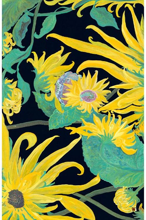 Van Gohn Sunflower Delight- Mama and Child Embrace