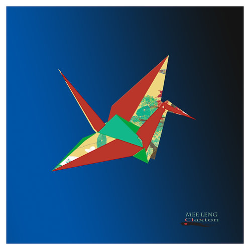 Globalization Origami Crane - Peace