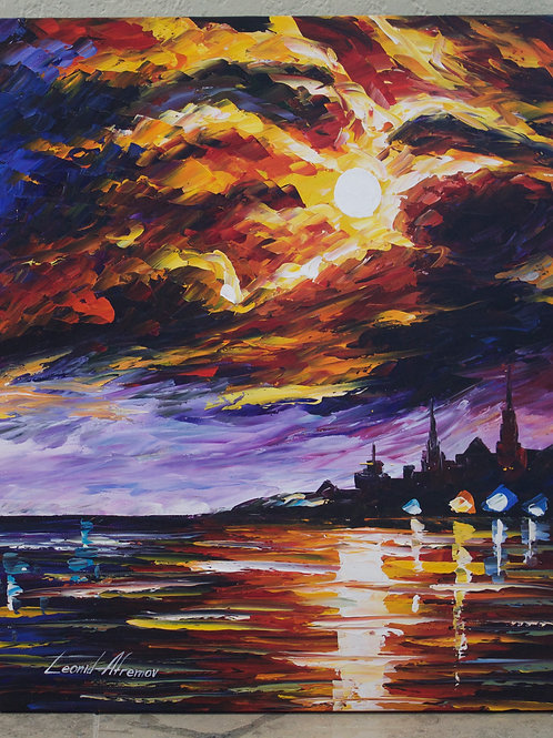 """""""Before the Storm"""" by Leonid Afremov"""