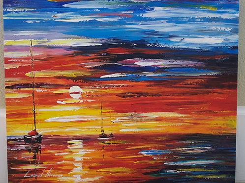 """Far and Away"" by Leonid Afremov"
