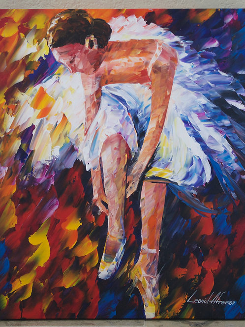 """Dancing Shoes"" by Leonid Afremov"
