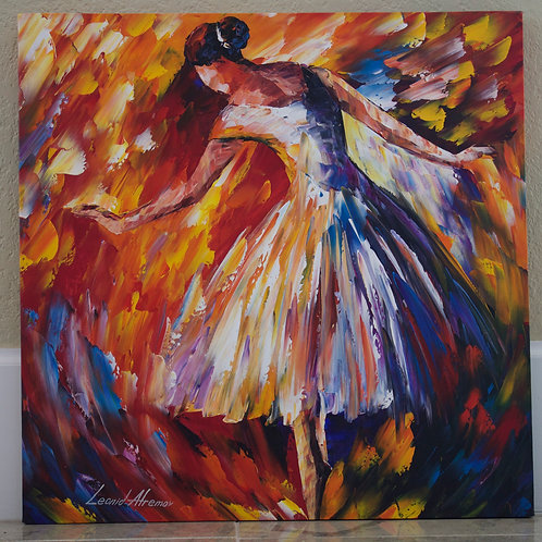 """Classical Dance"" by Leonid Afremov"