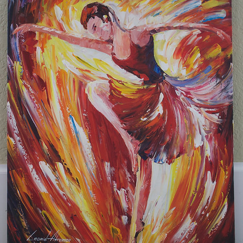 """""""Fire and Emotions"""" by Leonid Afremov"""