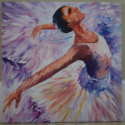 """Last Swan"" by Leonid Afremov"
