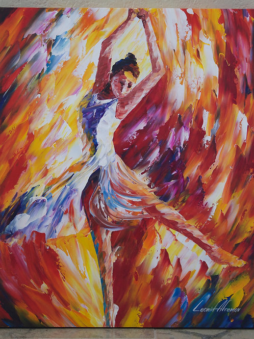 """Candle Move"" by Leonid Afremov"