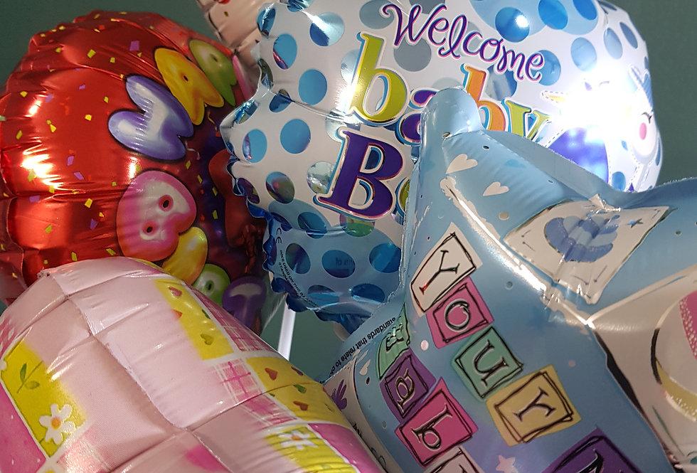 Air filled foil balloon
