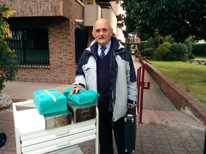 ¡Donación de material desde Madrid!