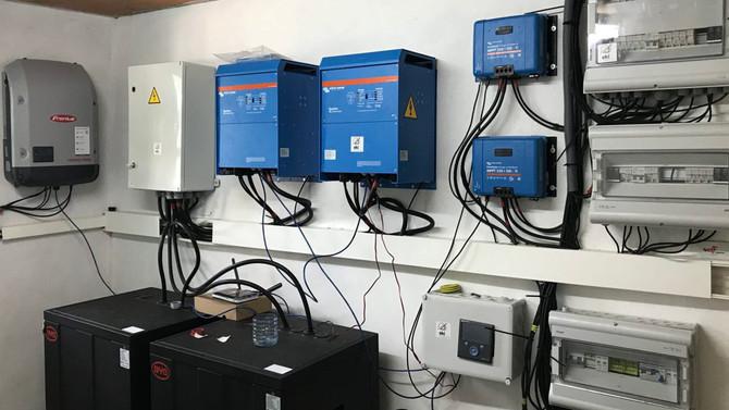 La Fundación EKI instala un sistema solar fotovoltaico en el Hospital de Ebomé