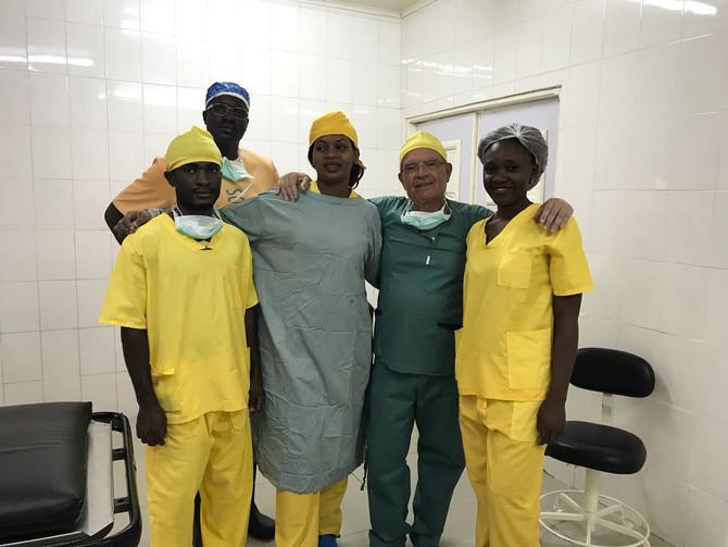 Tercera campaña quirúrgica del Doctor Bento