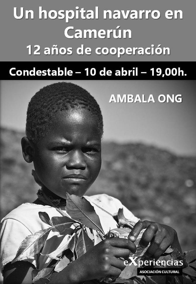 Un hospital navarro en Camerún, charla en el Palacio del Condestable el 10 de abril