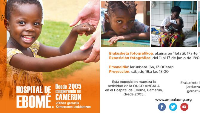 Exposición fotográfica y charla en Etxauri