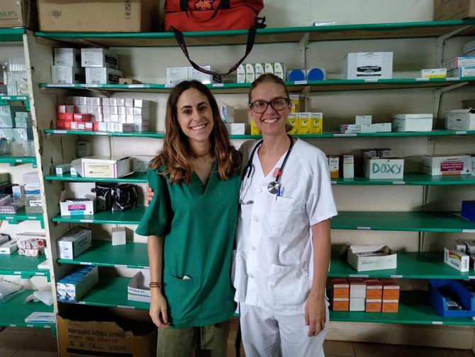 Belén y Lucía ya están en Camerún para ejercer su trabajo como voluntarias en Ebomé.