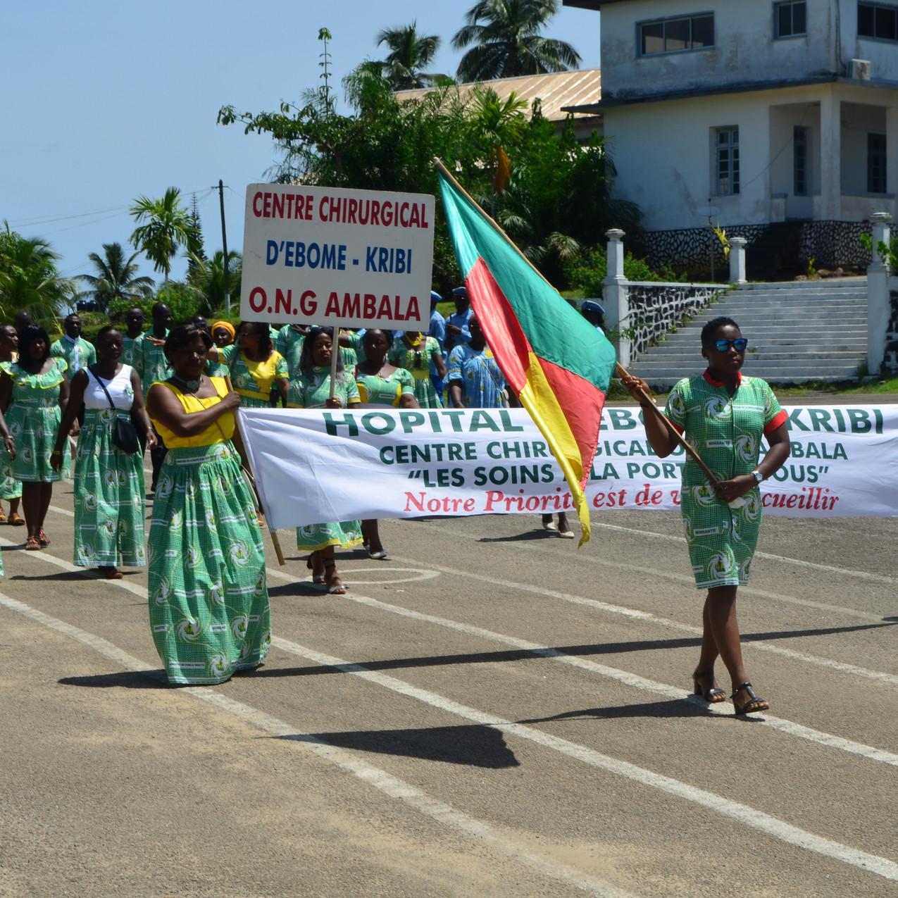 1 de Mayo en el Hospital de Ebomé