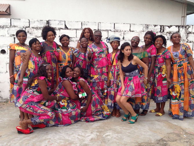 El Hospital de Ebomé celebra el Día de la Mujer