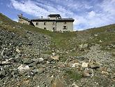rifugio sottile dalla vall di gressoney