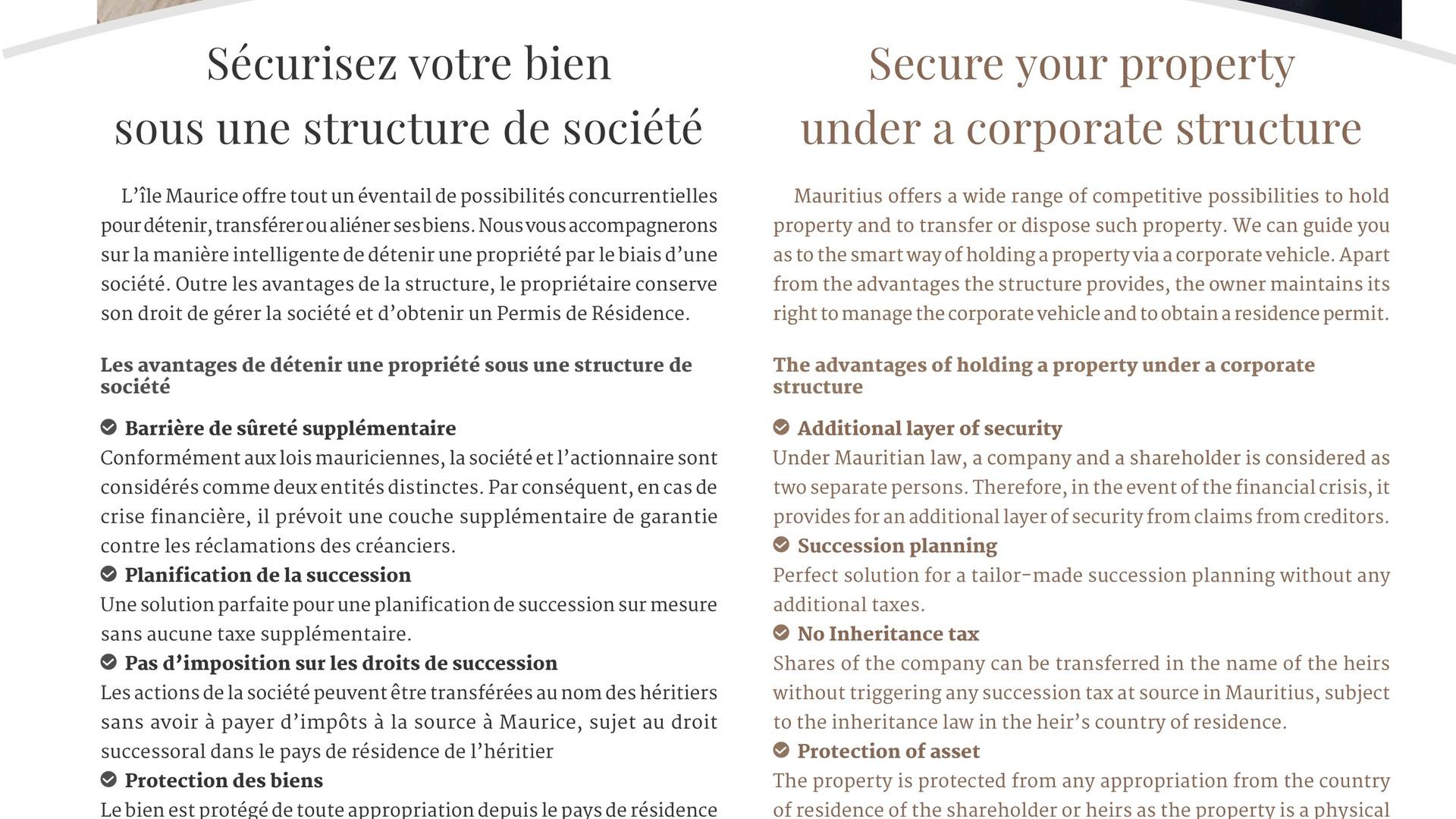 Investia Corporate Services