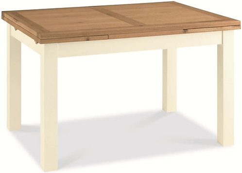 Provence Two Tone Rectangular Draw Leaf Extending Dining Table