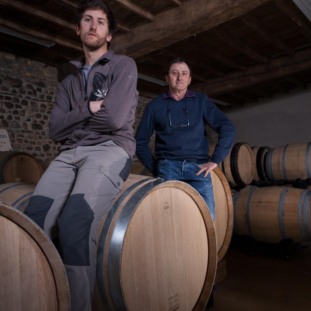 Franck & Christian Lihour vin blanc