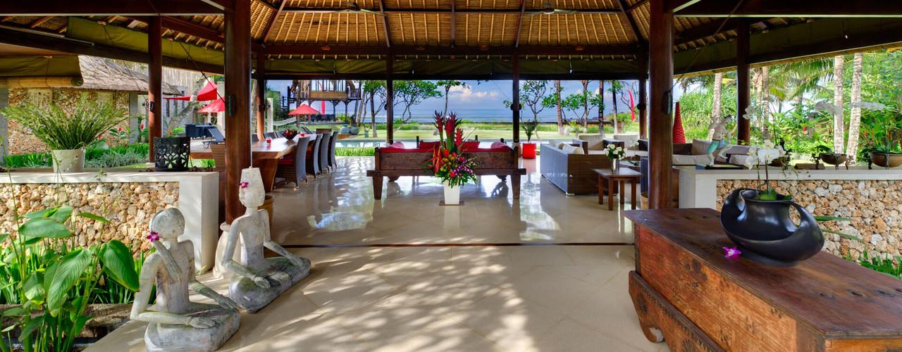 Villa Maridadi - Entrance to living bale