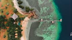 Drone footage of The Seraya