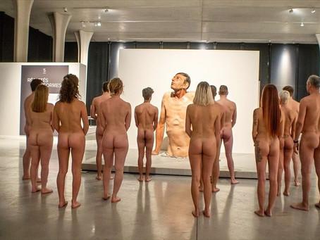 Nude Visit at the Musée de la Boverie in Liège