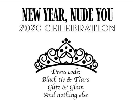 NEW YEAR, NUDE YOU 2020