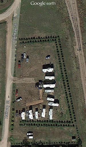 A Google Earth ariel view of L Bar T RV Park Grou
