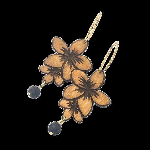 aromatherapy earrings | PLUMERIA