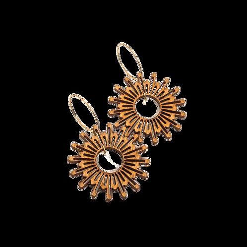 wood earrings | MOONBOW
