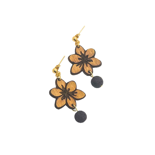 aromatherapy earrings | ORCHID
