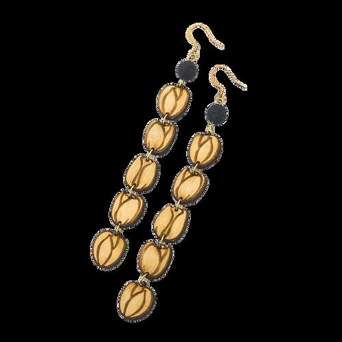 aromatherapy earrings   PIKAKE JASMINE