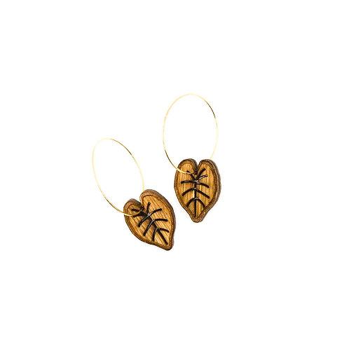 wood earrings | KALO