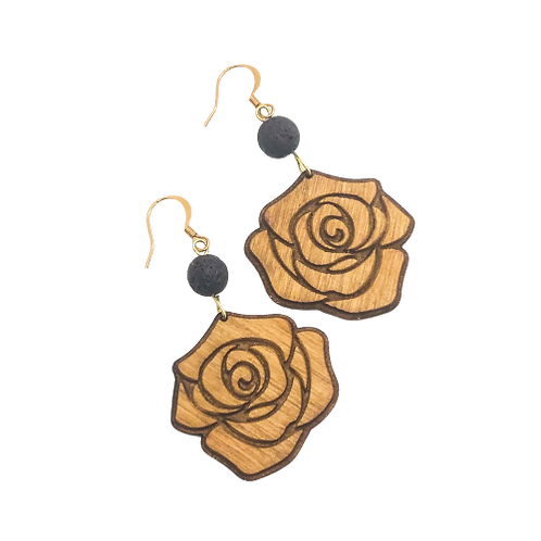aromatherapy earrings | LOKELANI ROSE