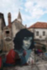 Street Art, Opuzen, Croatia