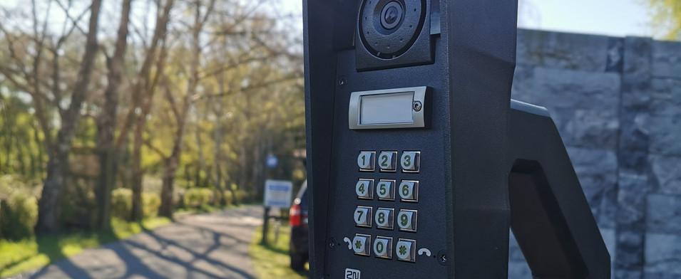 Gate Intercom and control at Marshland r