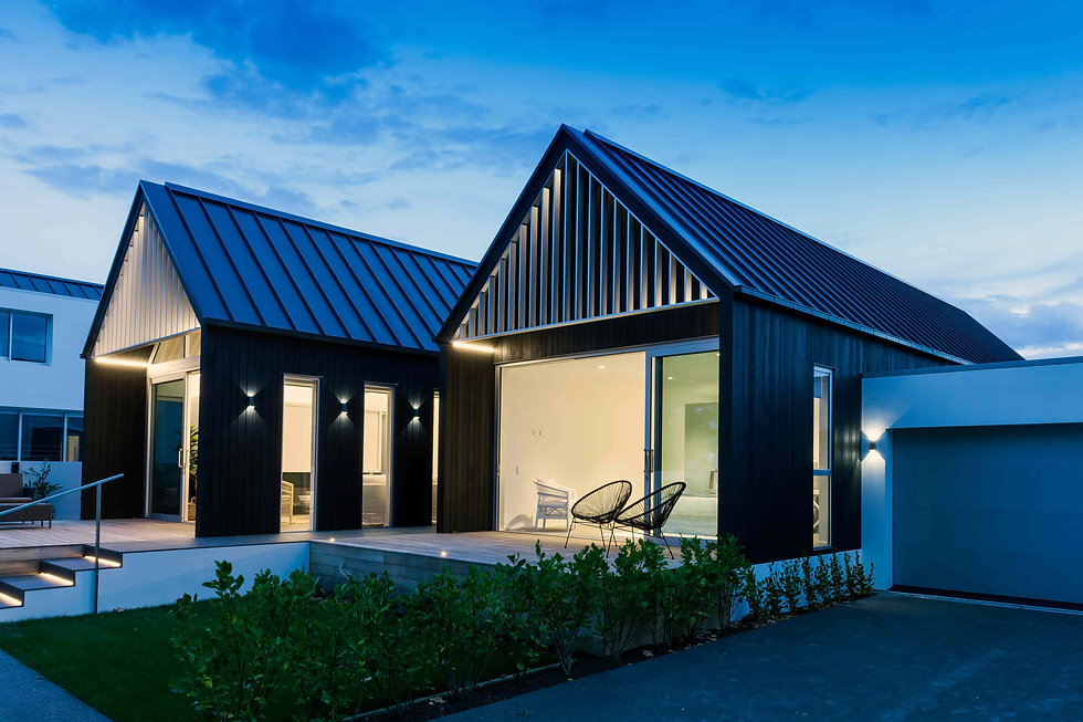 outdoor home lighting at Wroxton Tce