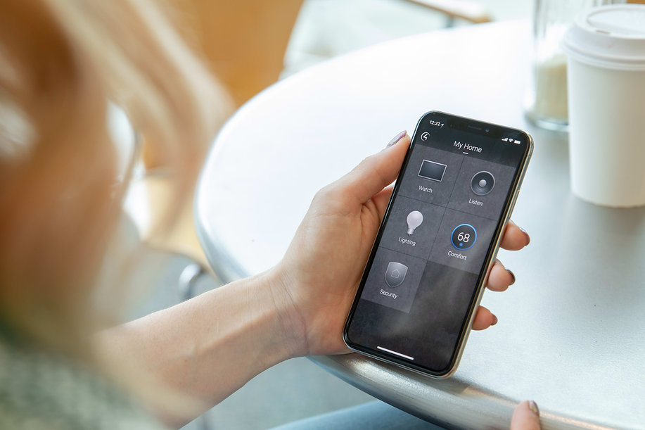 Control4's 4sight app allows you to control your smart home from anywhere