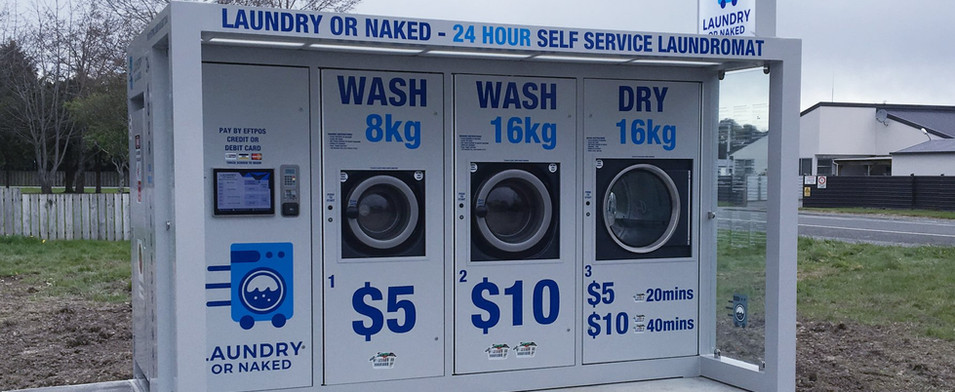 Laundry or naked pod in Lumsden