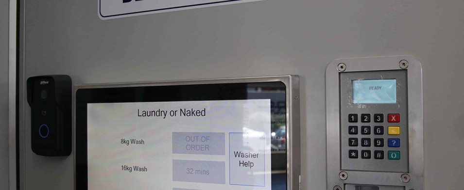 Payment system for the Laundry or naked