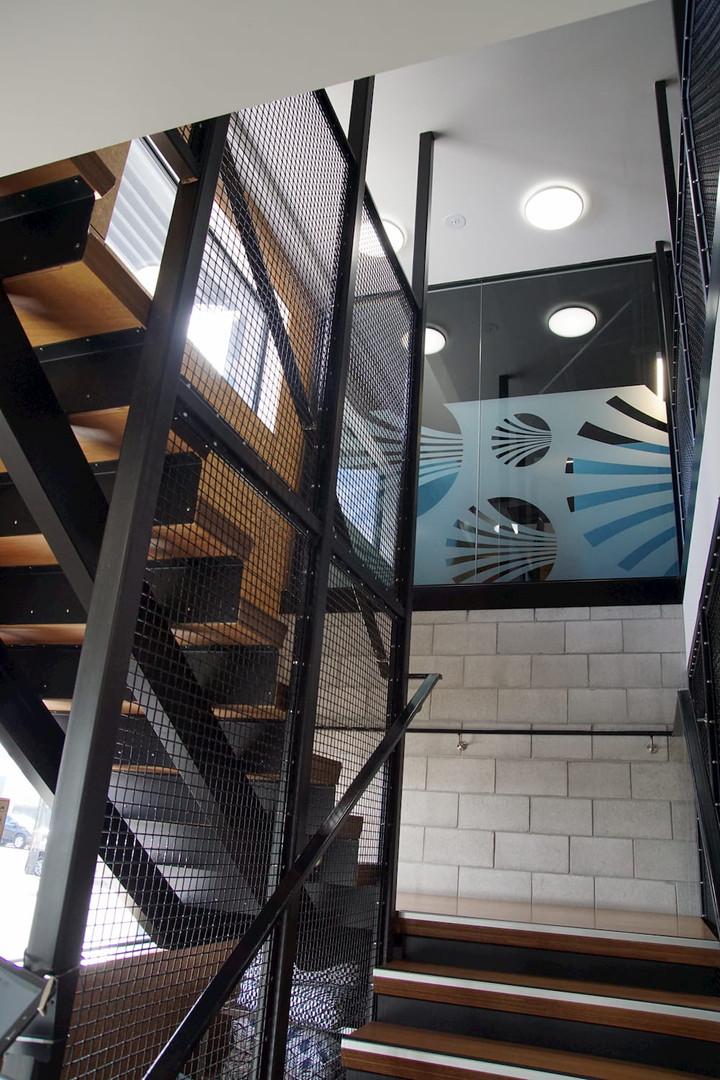 Streamliners stairway