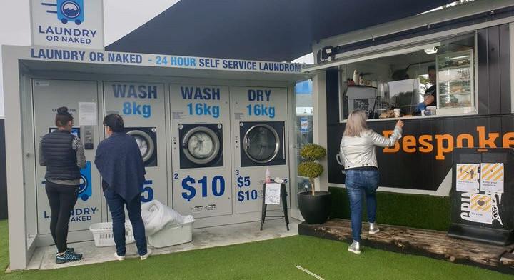 Laundry or Naked pod in Hokitika