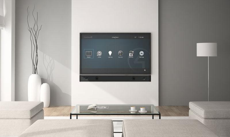 Control4 TV Audio Upgrade