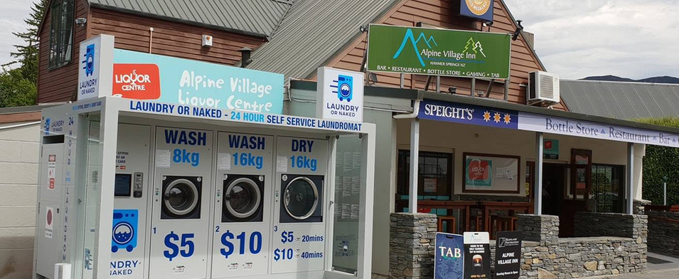 Laundry or naked pod in Hamner