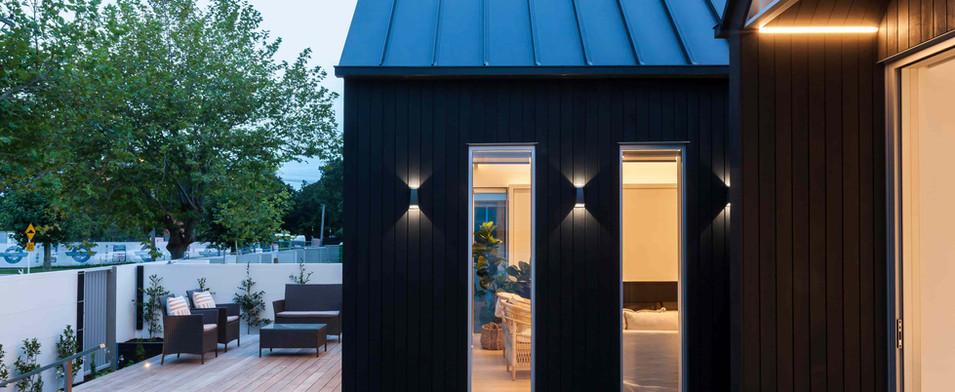 Wroxton Terrace feature lighting